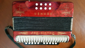 Hohner Double Ray Black Spot Melodeon