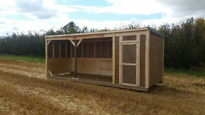 $500 OFF!!!    HORSE SHELTER WITH TACK ROOM
