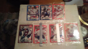 1997 pinnacle post hockey cards