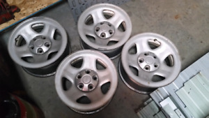 Four Jeep Rims $150.00 obo