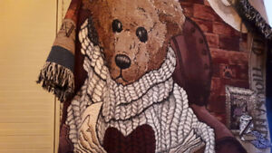 Boyds beat collectable blanket.