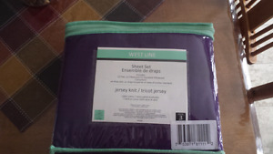 Purple Sheet Set ( Twin )