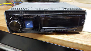 Alpine CD Receiver with Bluetooth and USB
