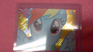 My Little Pony Rainbow Dash collector card F37 series 2