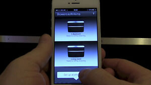 Bowers & Wilkins A7 with AirPlay