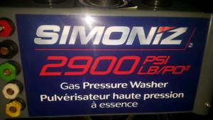 gas pressure washer/lawnmower