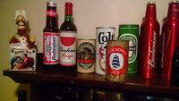 Beer Bottles, Liquor Bottles, Collectibles - Some full still