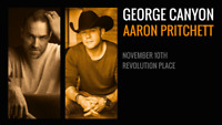 George Canyon with Aaron Pritchett