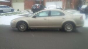 ***winter beater** 2004 Chrysler Sebring Sedan LXi $800 oboAS IS