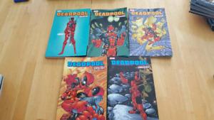 Lot de Comics Deadpool