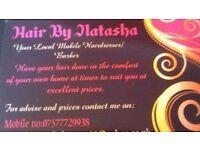 Mobile hairdresser Hairbynatasha