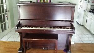 Upright Piano - Heintzman made in Toronto