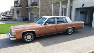 1982 Cadillac Sedan deVille - RARE FIND