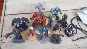 Disney Infinity characters for XBOX360 with game.