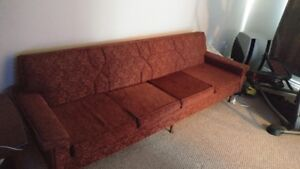 1960's  Vintage sofa & chair