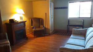 Lower level suite in chase for rent