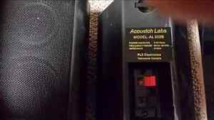 Acoustch Lab Rear Speakers with Stands