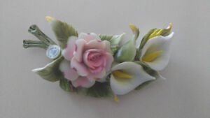 Capodimonte flowers and Porcelain flowers