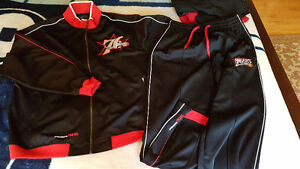 Rare NBA Fusion track Jacket sweat suit + pants new
