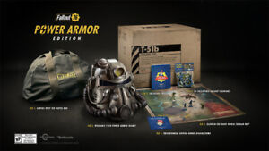 Brand New Fallout 76 Power Armor Edition! PS4