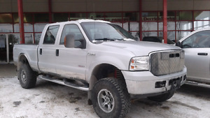 2006 Ford F-350 Super Duty XLT 4x4 Diesel Crew Lifted