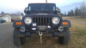 2004 Jeep TJ 4.0L 6 cyl 5 speed manual