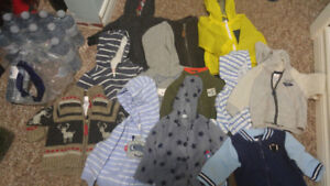 Boys clothing lot 3-6/6 months