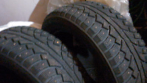 225/55/17 Studded Snow Tires