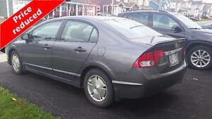 2010 Honda Civic (4 door Automatic) Reduced !!Winter Tires Incl St. John's Newfoundland image 3