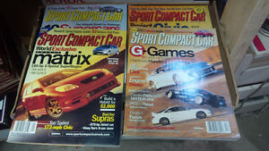 3 boxes of cars / motorcycles magazines