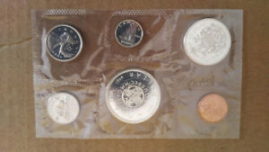 1964 Uncirculated Canadian Coin Set - Excellent Condition - $50
