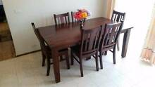 Dining Table with 6 chairs St Andrews Campbelltown Area Preview