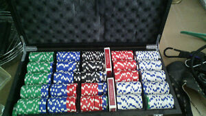 Poker Game with chips