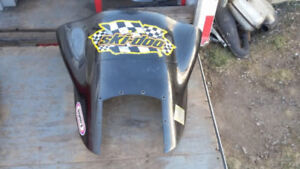 ***2 PIECE WINDSHIELD TO FIT F-CHASSIS SKI-DOO***