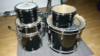 5 Part Premier Cabria Drum Set with high quality Alchemy Cymbals