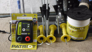 FOR SALE ELECTRIC FENCE KIT