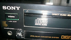 SONY CD  PLAYER-- Model # CDP 203 w Remote Control