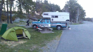 L/F Place to Park My Truck Camper