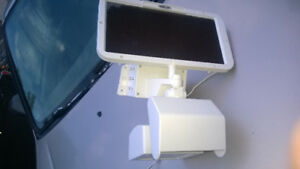 Security LED Light with solar panel