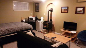 Newer Cozy Studio suite Central Location - Currently Vacant