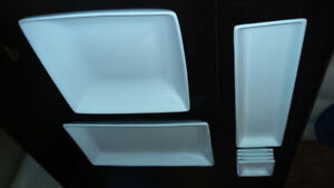 White Serving Dishes
