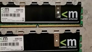 DDR2 desktop ram Mushkin enhanced XP2 - 8500  2 x 2GB kit