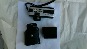 Vintagre 1970s Pocket Fujica 350 Zoom camera with flash