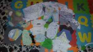 Baby boy lot clothes and stuff 33 items