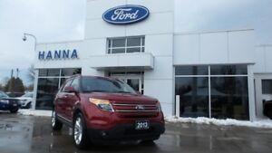 2013 Ford Explorer EXPLORER LIMITED