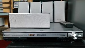 PANASONIC HOME THEATRE SYSTEM WITH 5 DVD CHANGER
