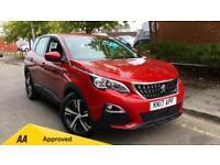 2017 Peugeot 3008 1.2 Puretech Active 5dr Manual Petrol Estate
