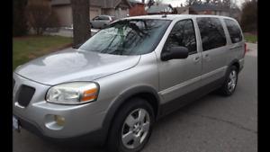 2009 Pontiac Montana EXT Minivan, 7 Seats,  NEW BRAKES, E TESTED