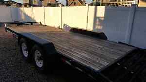Like new 2013 Sure-Trac trailer