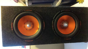 "Reduced! Cadence 10"" Speakers & amp like new & JVC DVD Player Kingston Kingston Area image 3"